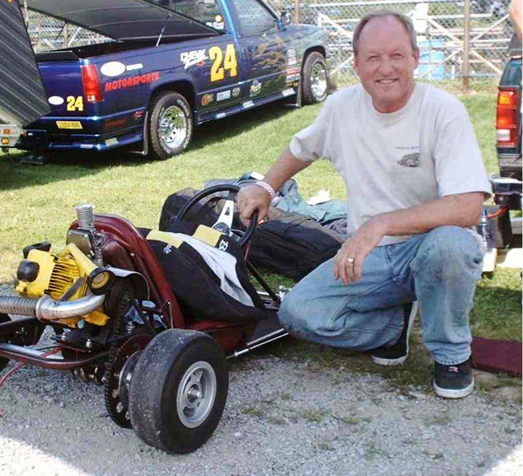 Marc Parker was instrumental in putting the vintage kart organization on strong legal footing. Had a nice vintage kart collection too